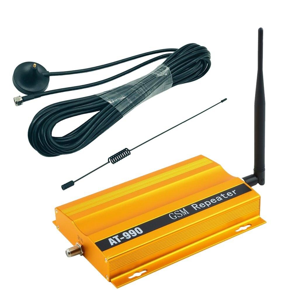 AT990 Suction Cup Set GSM 900MHz Mobile Phone Signal Enhancement Amplifier Uplink (890~915mhz) Downlink (935~960mhz)