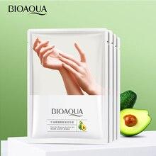 Увлажняющая маска для рук BIOAQUA авокадо Niacinamide, отшелушивающая нежная и гладкая питательная нежная маска для рук 35 г/пара