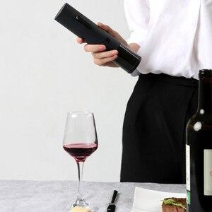 Image 2 - Huohou 自動ワインボトルオープナー電動コークスクリューと箔カッター