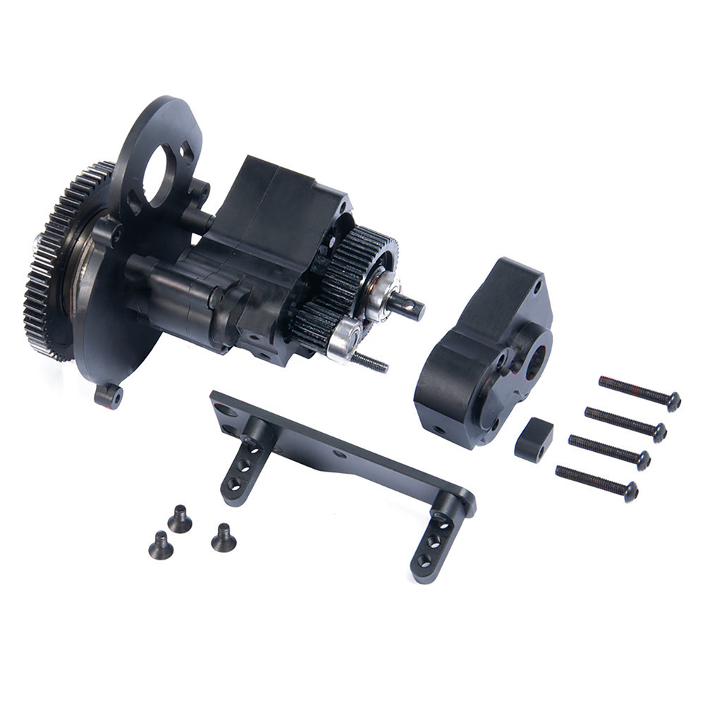 Transmission Case AX2 Two Speed Gear Box Center Gearbox Assembly for 1/10 Axial SCX10 Wraith Honcho RC Car Parts Accessories