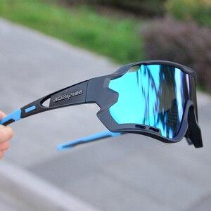 Image 2 - ACEXPNM marka yeni polarize bisiklet gözlük dağ bisikleti bisiklet gözlük açık spor bisiklet güneş gözlüğü UV400 gözlük 4 Lens