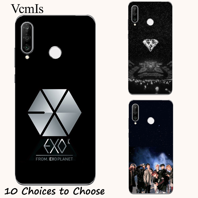EXO silicone Painting Case For Doogee X30 X50 X55 X60L X70 N10 Y7 Y8C BL5000 BL7000 BL12000 Pro Mix Lite Shoot 2 Phone Cover image