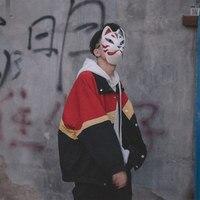Waterproof Vintage Jacket Men Streetwear hip hop WindBreaker Mens Jackets Man Jacket Autumn 2019 young men clothing II50NSJK