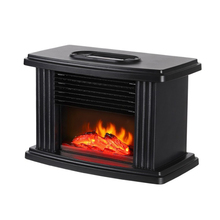 Heater Tabletop Space-Warmer Home-Room for Flame Mini Realistic