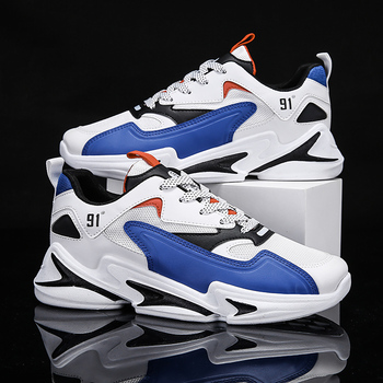Damyuan nuove scarpe Casual da uomo di moda 2021 Sneakers in Mesh traspirante per uomo scarpe sportive da Tennis all'aperto con fondo spesso morbido 1