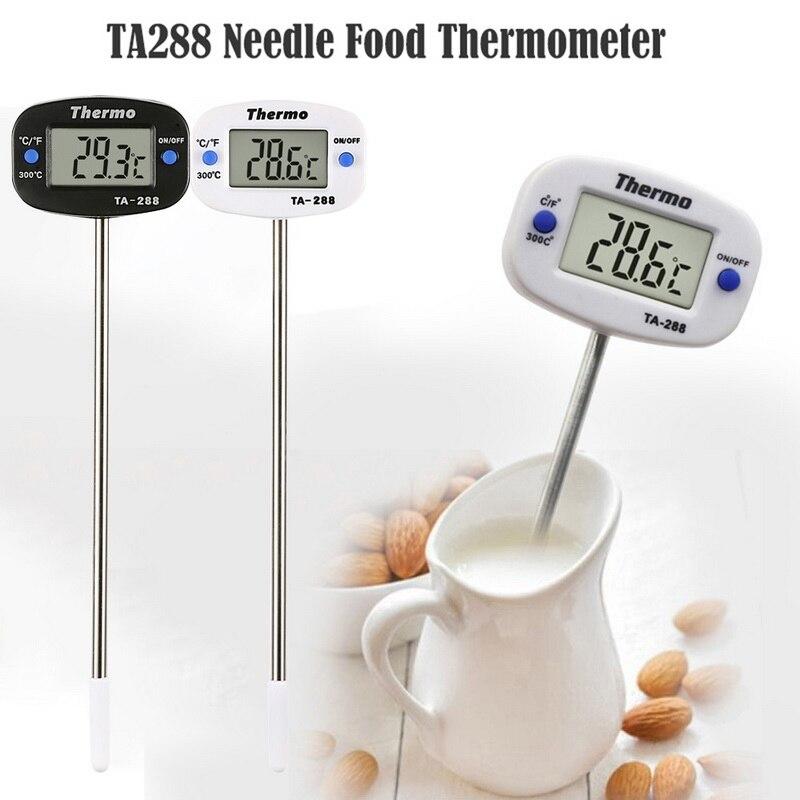 Цифровой термометр для мяса, кухонный зонд для приготовления пищи, электронные инструменты для приготовления барбекю, измеритель температ...