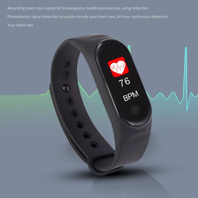 FEOOE Smart Bracelet Color Screen Bracelet Heart Rate Blood Pressure Bluetooth Kinescope Step Gift Factory Wholesale Yxm 6