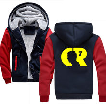 Hoodies Men Casual Pullover Streetwear Sweatshirt Cristiano Ronaldo CR 7 Harajuku Male Hood Hooded 4XL(China)