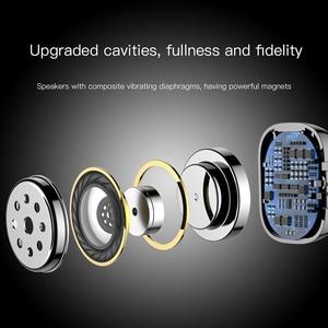 Image 5 - Baseus W02 auriculares TWS, inalámbricos por Bluetooth con micrófono, auriculares estéreo 4D de 60mAh con Control táctil inteligente, auténticos