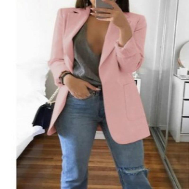 2020 Autumn Fashion Woman Blazers and Jackets Work Office Lady Suit Women Slim Business Female Talever Coat Cape Blazer Vestido