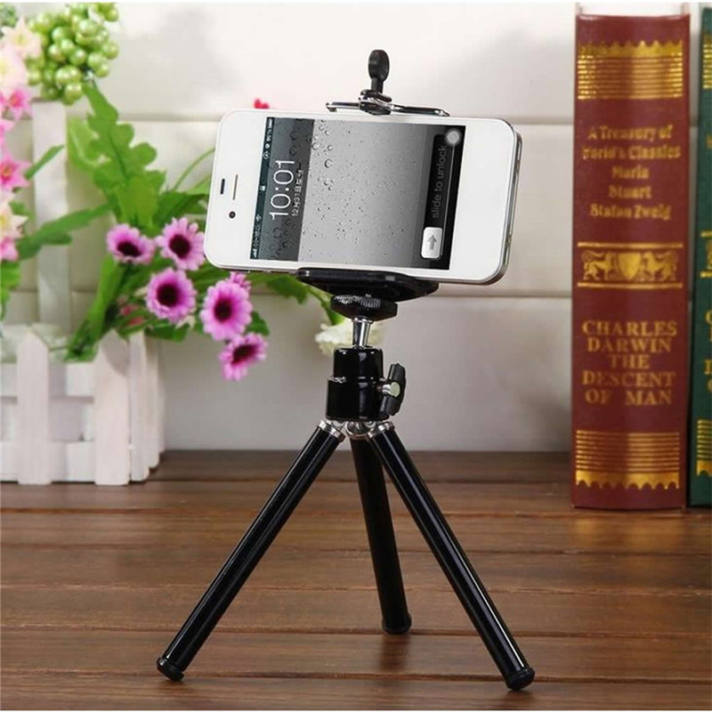 Novel Cell Phone Clip Bracket Holder For Tripod Stand W/ Standard LX9A