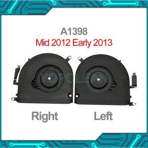 """Image 1 - オリジナルa1398 左右cpuクーラー冷却ファンのmacbook proの網膜 15 """"A1398 mid 2012 早期 2013 年"""