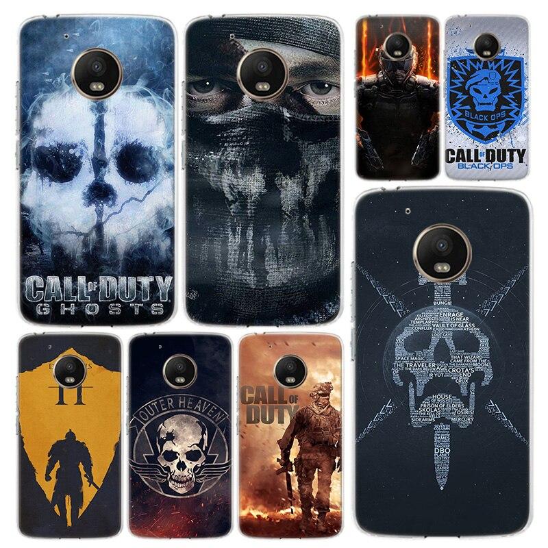 Call Of Dutys Phone Case Cover For Motorola Moto G8 G7 G6 G5S G5 G4 E6 E5 E4 X4 Play Plus Power + One Action Coque