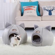 Blanket Nest Puppy-Cushion Kennel Pet-Bed Cat-Supplies Dog-Sleeping-Mat Winter Portable
