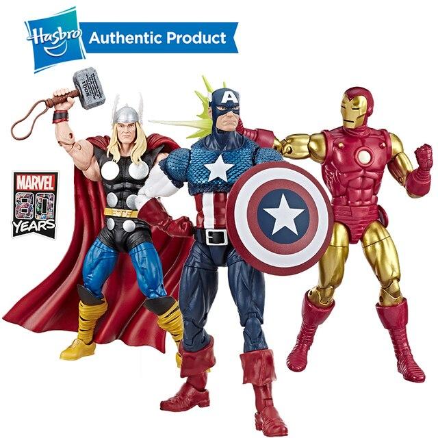 Hasbro Marvel Truyền Thuyết Loạt Quả Phụ Đen Của Marvel Hawkeye Hình 2 Gói Truyền Thuyết Bộ Đội 2PK Avengers 6 inch Ant Man