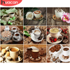 HUACAN DIY Pictures By Number Coffee Cup Kits Home Decoration Painting By Numbers Drawing On Canvas HandPainted Art Gift