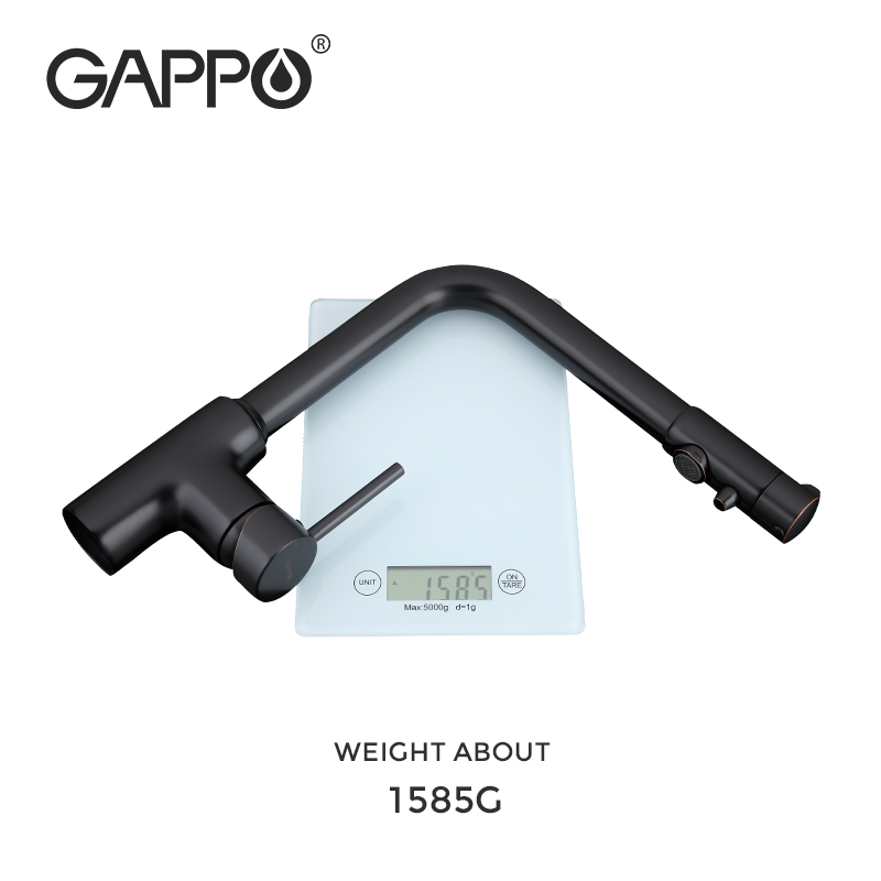 GAPPO kitchen faucet with filtered water faucet tap kitchen sink faucet filtered faucet kitchen black crane mixer taps torneira