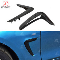 F36 Body Kit Fender Trim For BMW F32 F33 Carbon Fiber Bumper side Fender Light Trim 4 Series accessories 2014 2015 2016