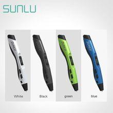 SUNLU 3D Stift Intelligente Zeichnung Druck Stift Geschenk Für Kinder 4 Farben Digitale 3D Zeichnung Stifte SL-300A Bithday Geschenk