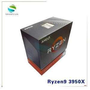 AMD CPU Processor 3950X 16-Core AM4 9-3900x Ghz 7NM New 32-Thread L3--64m 100-000000051-Socket