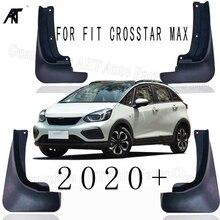 4 PCS /lot Car Mudflap for Honda CROSSTAR MAX 2020 on Fender Mud Guard Flap Splash Flaps Mudguards Accessories