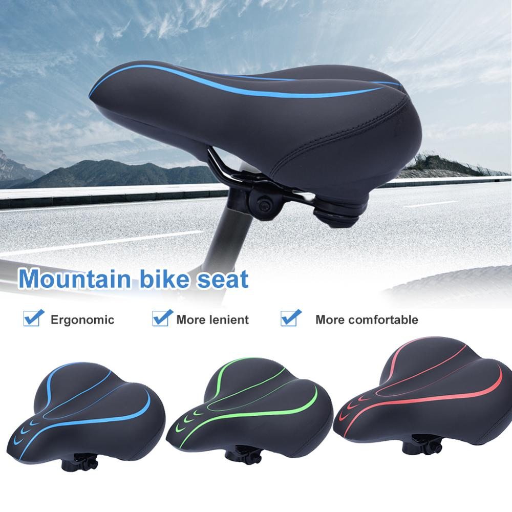 MTB Mountain Bike Cycling Thickened Ultra Soft Silicone 3D Gel Pad Seat Cushion