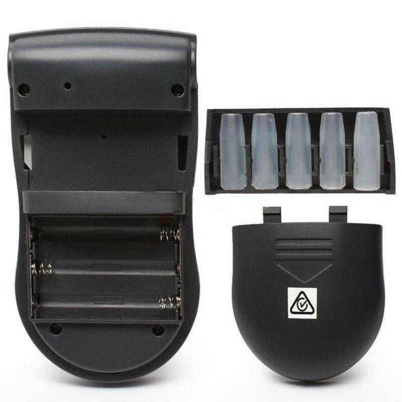 Portable Alcohol Meter Analyzer High Sensitivity Alcohol Breath Tester Breathalyzer 5 Mouthpieces