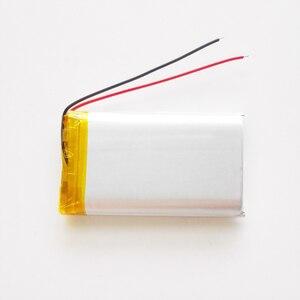 Image 4 - مجموعة 10 قطعة 3.7 فولت 2200 مللي أمبير شحم ليثيوم بوليمر بطارية قابلة للشحن EHAO 103560 ل GPS الوسادة DVD سماعة باور بنك كاميرا مسجل