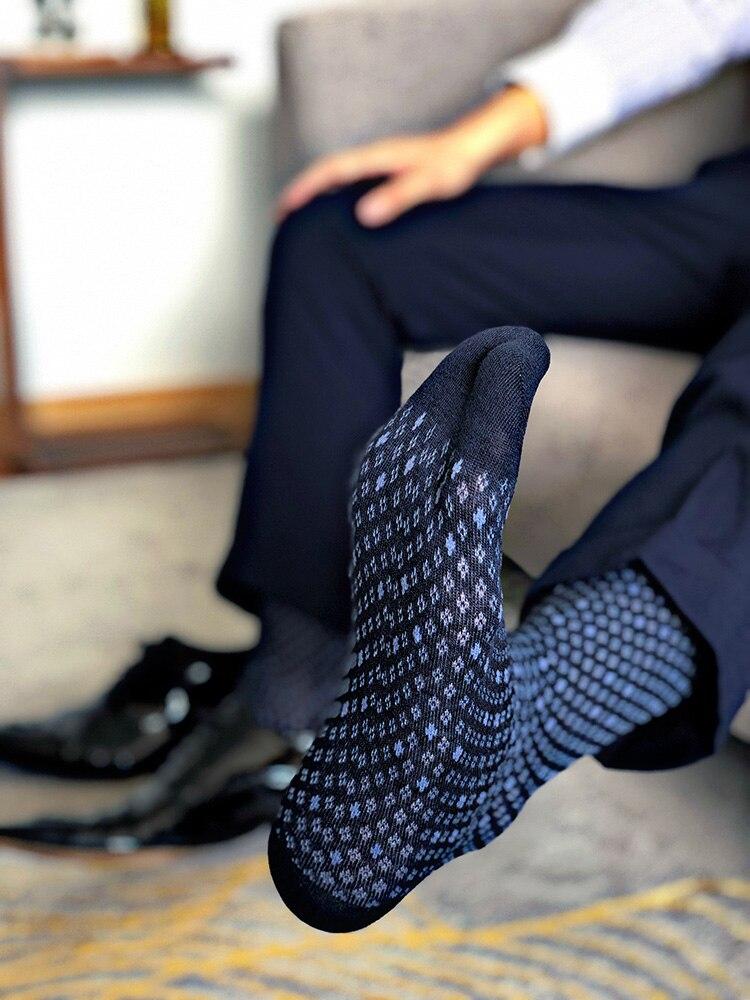 Men's Socks Male Formal Dress Black Socks Men's Business Socks Sexy Men's Dress Socks Breathable Gentleman Cotton Socks