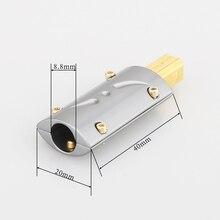 Pieza USB B bañada en oro Viborg de alta calidad