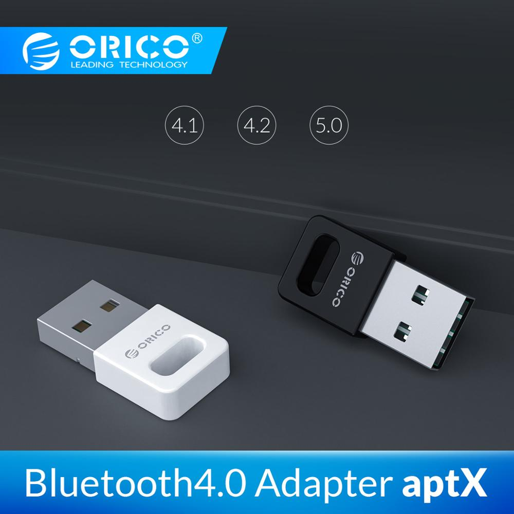 ORICO USB Bluetooth Adapter 4.0 Portable Support AptX Up To 20M Bluetooth 4.0 Adapter For PC Computer Speaker Wireless Mouse