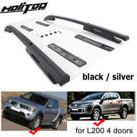 original style roof rail roof rack for Mitsubishi L200 TRITON,guarantee satisfied quality,thicken aluminum,excellent painting