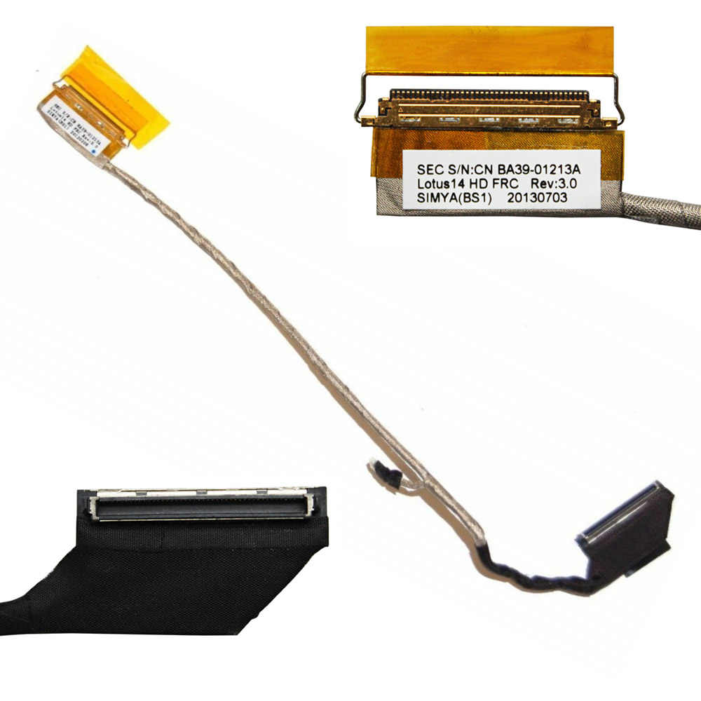 Video Scherm Flex Voor Samsung NP530U3C NP530U3B NP535U3C NP535U3B NP530U4B NP530U4C Laptop Lcd Led Lvds Display Lint Kabel