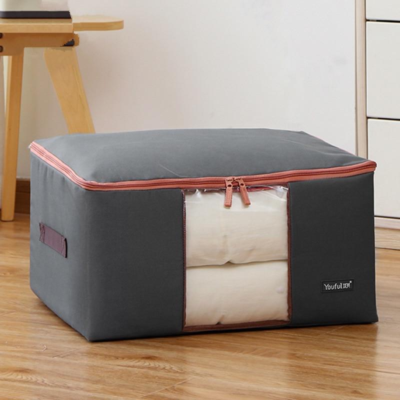Thick Oxford Cloth Clothing Quilt Storage Bag Large Quilt Bag Quilt Storage Bag Clothing Soft Storage Box