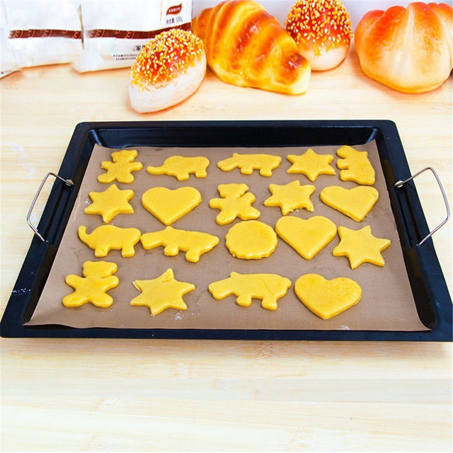 1PC Kitchen Silicone Baking Sheet Rolling Dough Pastry Cakes Bakeware Liner Pad Mat Oven Pasta Cooking Tools Kitchen Accessories