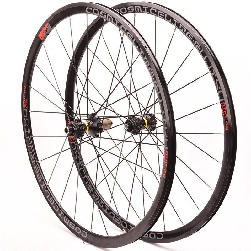 Rennrad rad set 700C Cosmic Elite center lock Sechs löcher straße disc bremsen 30MM 4 Abgedichtete lager Aluminium fahrrad Laufradsatz