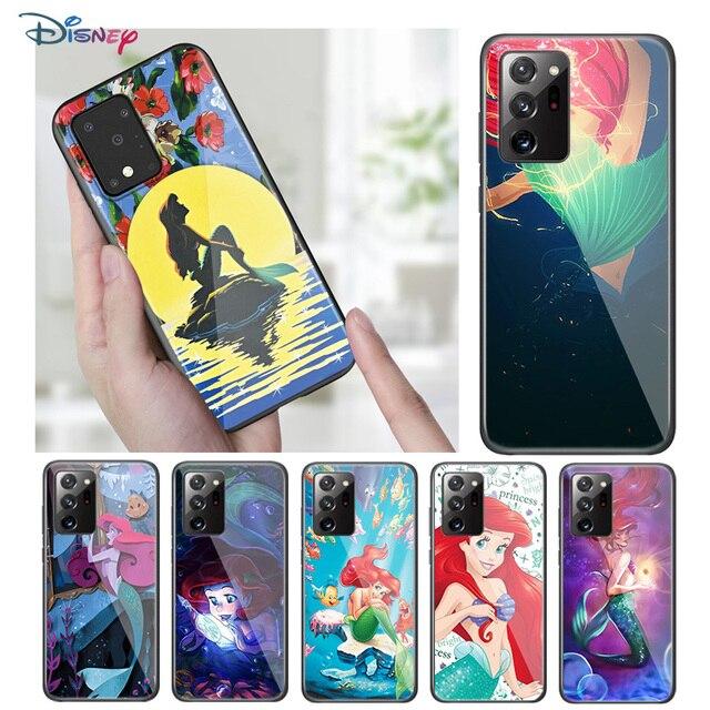 Disney Cartoon Animation The Little Mermaid For Samsung Galaxy A31 A51 A71 A91 A12 A32 A42 A52 A72 A02S TPU Silicone Phone Case