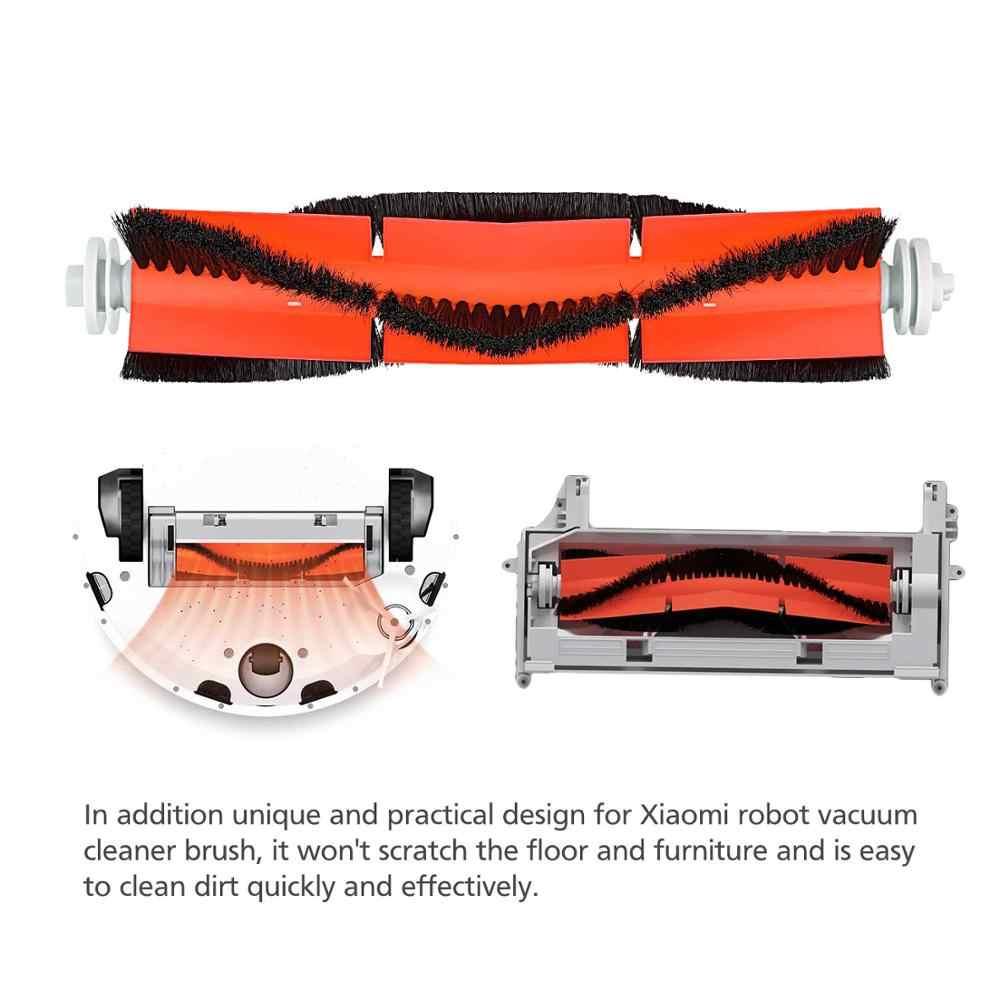 Mopem tkaniny szczotka główna biały filtr HEPA dla Xiaomi Roborock S6 S5 S60 S65 S5 S50 S55 E25 E35 części próżniowe akcesoria