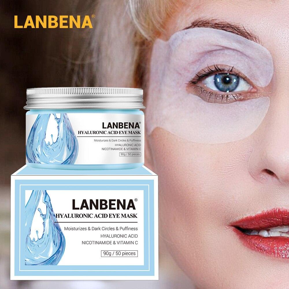 Hyaluronic Acid Eye Mask Eye Patch Eye Care Eye Reduces Dark Circles Circles Bags Eye Lines Ageless Lifting Firming Skin Care