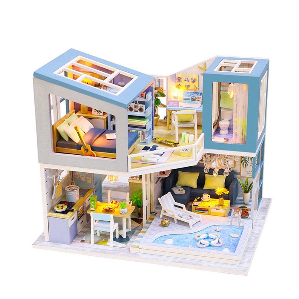 H187315de72fc4af0a68f5ca4e7a6ad980 - Robotime - DIY Models, DIY Miniature Houses, 3d Wooden Puzzle