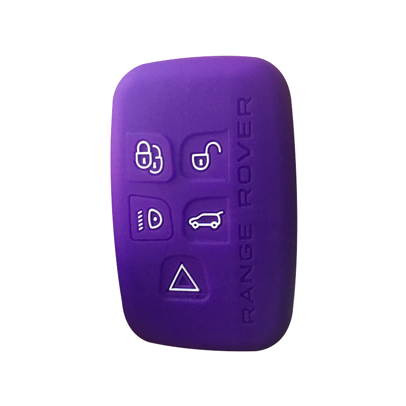 Freelander 2 Key Case Silicone For Land Rover Freelander 2 Range Rover Velar 2020 Discovery Sport Car Key Cover  For Range Rover