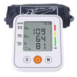 Image 2 - אוטומטי רפואי עליון זרוע שרוול מד לחץ דם צג חכם מכונה Bp קצב לב Tonometer מד לחץ דם Tensiometer