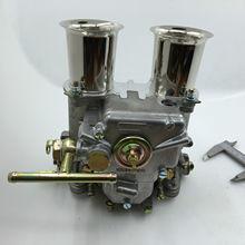 SherryBerg carburador fajs 45mm dcoe 45 DCOE 45 dcoe, recambio de carburador Weber Solex dellorto come w, cuernos de aire