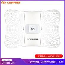 COMFAST 25KM 900Mbps 5.8G açık uzun menzilli kablosuz erişim noktası köprü WIFI CPE erişim noktası 26dBi anten WI-FI Nanostation CF-E319A