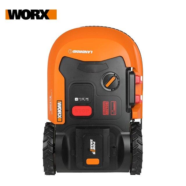 WORX Landroid L WR147E 20V Robot Lawn Mower mobile app