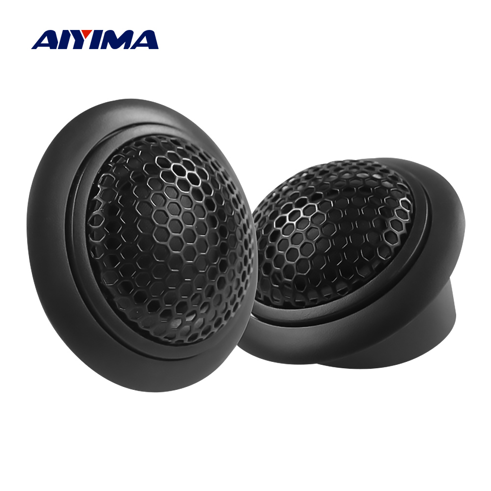 AIYIMA 2Pc 2 Zoll Hochtöner 4 Ohm 80W Audio Lautsprecher Fahrer Lautsprecher HiFi Stereo Höhen Lautsprecher DIY Auto sound System