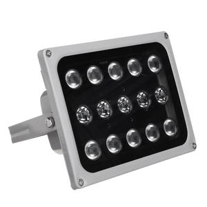 Image 2 - 12 v 15 led 적외선 조명 램프에 대 한 밤 비전 금속 채우기 빛 cctv 보안 액세서리 방수 ip65