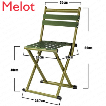 Thick Folding Stool Adult Small Horse Stool Stool Small Chair Portable Folding Chair Mazar Outdoor Fishing Chair folding stool aluminum alloy mazar portable barbecue fishing chair camping accessories travel mazar for outdoor hiking