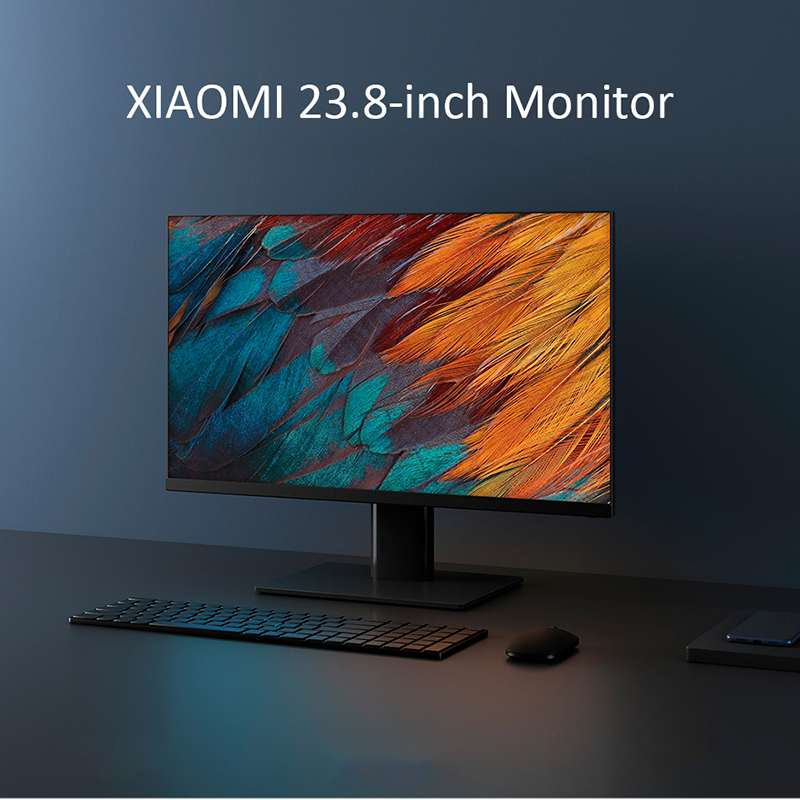 Xiaomi 23.8-Inch Monitor IPS Technology Hard Screen 178 Super Wide Viewing Angle 1080P Computer Display Screen HDMI for TV Box