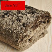 JaneYU Wool Fabrics Imitating Fur Fabrics Meters For Overcoat Lining In Autumn And Winter Fabric